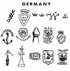 11 Best Pottery Marks German Porcelain Images Pottery Marks