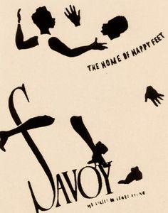 Savoy Ballroom: The Home of Happy Feet (1920s dance hall promo)