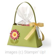 Julies Stamping Spot -- Stampin Up! Project Ideas Posted Daily: NEW Petite Purse Die from Stampin Up!