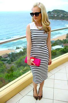 striped dress - wishbone