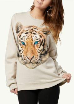 Tiger Eyes Retro Sweatshirt | Tops | rue21