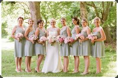 blush floral design, jubilee events, the white dress by the shore, augusta jones bridal gown, peony bouquet, spring wedding, bridesmaids