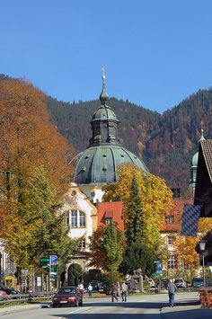 Oberammergau, Germany  Seeing is believing....the buildings are beautiful in Oberammergau