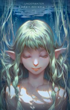 Set of amazing digital anime artworks by Krenz, an artist from Taiwan. Art And Illustration, Illustrations And Posters, Character Illustration, Fantasy Kunst, Fantasy Art, Anime Kunst, Anime Art, Character Inspiration, Character Art