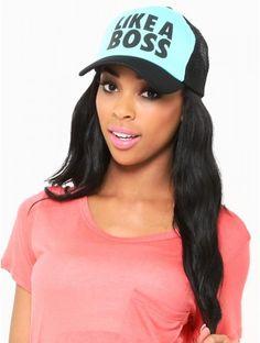 LIKE A BOSS TRUCKER #Hat
