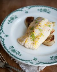 Orange and Fennel Roasted Cod Recipe - Quick From Scratch Fish & Shellfish | Food & Wine.