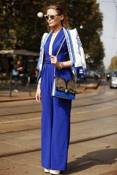 Street Style de Milán Fashion Week 2013