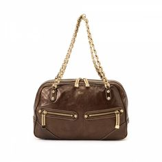 1f6984f7e68a51 LXRandCo guarantees this is an authentic vintage Gucci Chain shoulder bag.