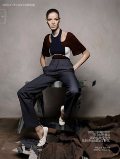 #AlisaAhmann by #SolveSundsbo for #VogueChina March 2015