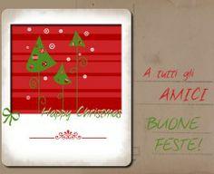 Tutorial per creare un bigliettino di Natale, con file scaricabile