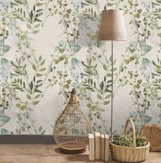 Amazing walls with wallpaper Decor, Inspired Homes, Vintage Room, Wall Wallpaper, Wallpaper, Mural, Deco, Home Decor, Wall Deco