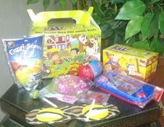 """Kidzbox - die heiße Box für coole Kids. Die """"Kidzbox"""" ist eine Kindertüte, die Großkonzerne nutzen, um über das Interesse der Kinder neue Kunden zu gewinnen. Geliefert wird die """"KidzBox"""" an Restaur..."""
