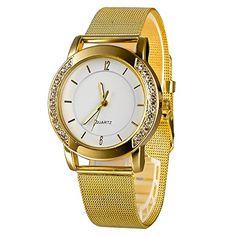 Mudder Elegant Quartz Movement Round Dial Alloy Women's Wrist Watch - Jewelry For Her