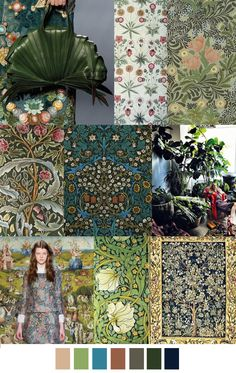 F/W 2016 patern & colors trends: FLORAL EARTHLY DELIGHTS