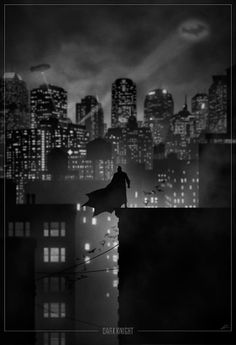 Superhero Noir: Dark Knight