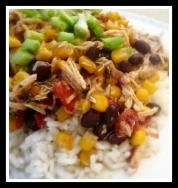 southwestern slowcooker chicken