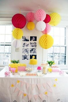 Name: Sophie Bird (1) Location: West Village, NYC  I can basically credit Pinterest for all my ideas and decor that we used and created for Sophie's first birthday. I went back and forth about a theme for a while but wound up deciding on Sunshine because she just is so sunshiney.