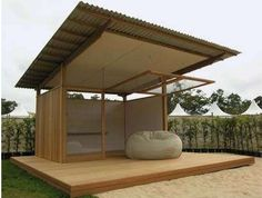 There are lots of pergola designs for you to choose from. You can choose the design based on various factors. First of all you have to decide where you are going to have your pergola and how much shade you want. Backyard Cabin, Backyard Sheds, Garden Sheds, Backyard Studio, Prefab Sheds, Prefab Homes, Cabin Plans, Shed Plans, Deck Plans
