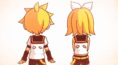 Rin and Len electric angel intro by taylorcutiebaby