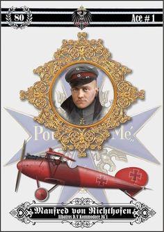 Manfred Von Richthofen, Ww1 History, World War One, Aviation Art, Luftwaffe, Military Art, War Machine, Military Aircraft, Wwii