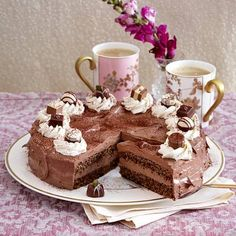 Großherzogin-Louise-Torte Rezept   LECKER Sweets Cake, Tiramisu, Treats, Snacks, Ethnic Recipes, Desserts, Food, Autumn, Amelie