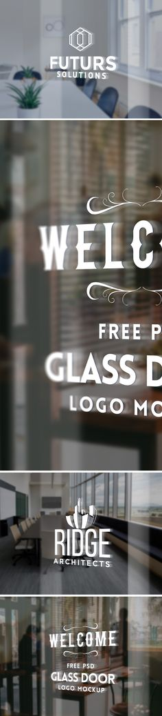 Good glass door logo mockup not only enhance design presentations not only are mockups useful for getting an early view of what the finalized logo might look like, That's where these professionally designed logo on glass mockup templates come in and foster good communication between the designer and client.Download the free  PSD template, play around and show your logo design in style to your clients.