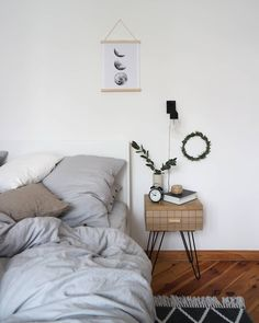 243 Best Ab ins Bett images in 2019 | Bed table, Closet, Bedroom ideas