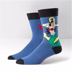 Sock It To Me Mens Crew Hey Sailor Socks