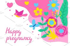 Happy Pregnancy, Butterfly Design, Spring Flowers, Baby Shower Invitations, Cards, Beautiful, Decor, Decoration, Bowtie Pattern