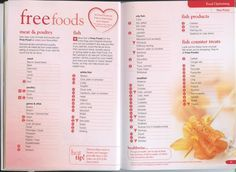 Slimming world food optimising book