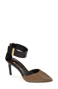 Dolce Vita Leather Ankle Strap d'Orsay Pump (Women) available at #Nordstrom