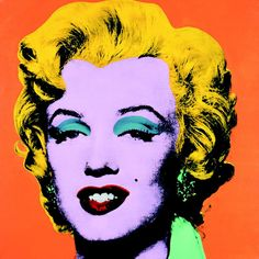Pop Art Makeup Marilyn Monroe Andy Warhol 32 New Ideas Andy Warhol Marilyn, Andy Warhol Pop Art, Andy Warhol Obra, Andy Warhol Portraits, Pop Art Portraits, Andy Warhol Prints, Pop Art Collage, Collage Artwork, Jasper Johns