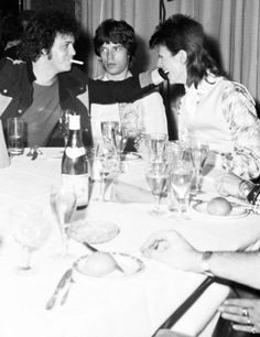 Lou Reed, Jagger, Bowie