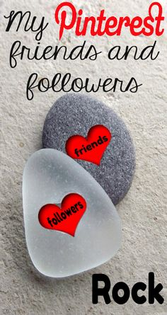 My Pinterest friends and followers ROCK <3 No Pin Limits on My Boards <3 Tam <3