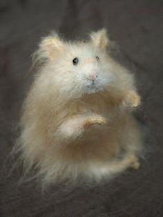 Stuffed Animals by Natasha Fadeeva - realistic hamster
