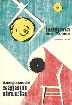 medjunarodni sajam drveta Ljubljana, 1958