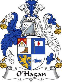 O'Hagan Clan Coat of Arms