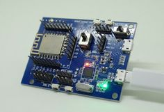 The RTL8710 SDK can be used to debug and program the module using a micro USB port