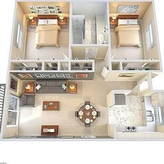39 Ideas For Bedroom Interior Design Layout Kids Rooms Sims House Plans, House Layout Plans, New House Plans, Small House Plans, House Layouts, House Floor Plans, Layouts Casa, Bedroom Floor Plans, Sims House Design