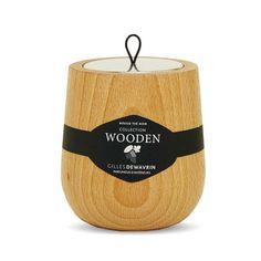 Bougie wooden Thé Noir Hypsoé
