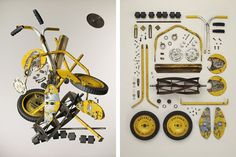 Photography Series of Dismantled Old Objects: Motion/ Stills by Photographer Todd Mclellan Photography Series, Artistic Photography, Art Of Living, Modern Living, Flat Lay Inspiration, Coming Apart, Online Lessons, Found Object Art, Creative Outlet
