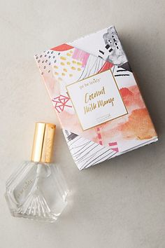 "Go Be Lovely ""Coconut Milk Mango"" Eau De Parfum at Anthropologie. It smells amazingly fruity and sweet!"