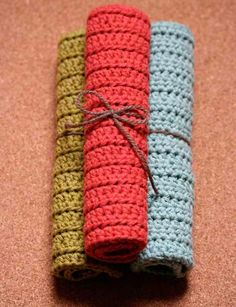 diy wednesdays: crocheted cotton dish scrubbers | Design*Sponge