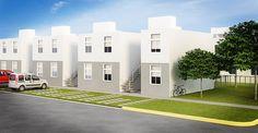 Imagenes elaboradas para un desarrollo de vivienda de interes social ubicado en Cancun Quintana Roo, Mexico