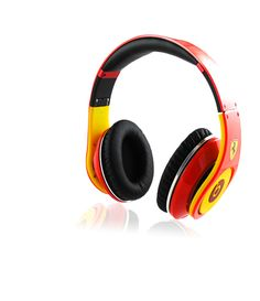 Monster Beats by Dr. Dre Studio Headphones Ferrari-Limited Edition