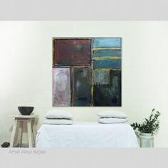 Original Abstract painting. Acrylic painting Size 30 by AsiyaBajwa, $139.00