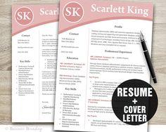 Instant Download Resume Design Template  by BusinessBranding