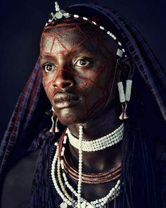 Женщина из племени масаи (Кения)