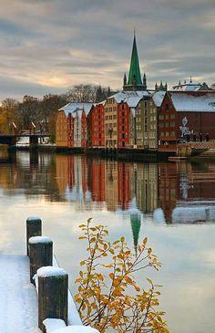 Trondheim Norway. Where my grandma's grandpa was from