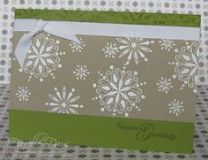 I love making my own Christmas cards, invitations, graduation ...